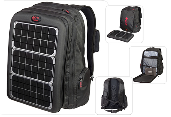Solar Powered Backpack