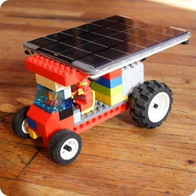 Solar Powered Truck Toys