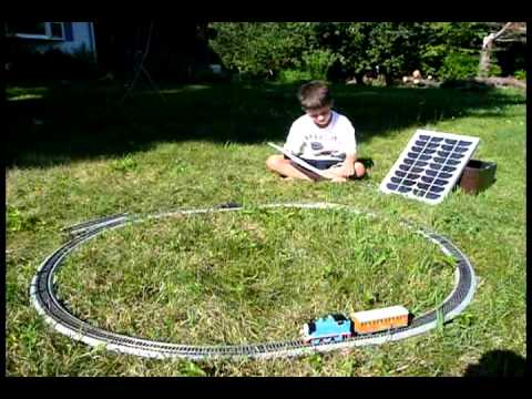Solar Powered Train Toy