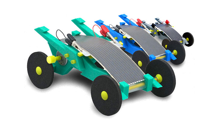 Solar powered toys
